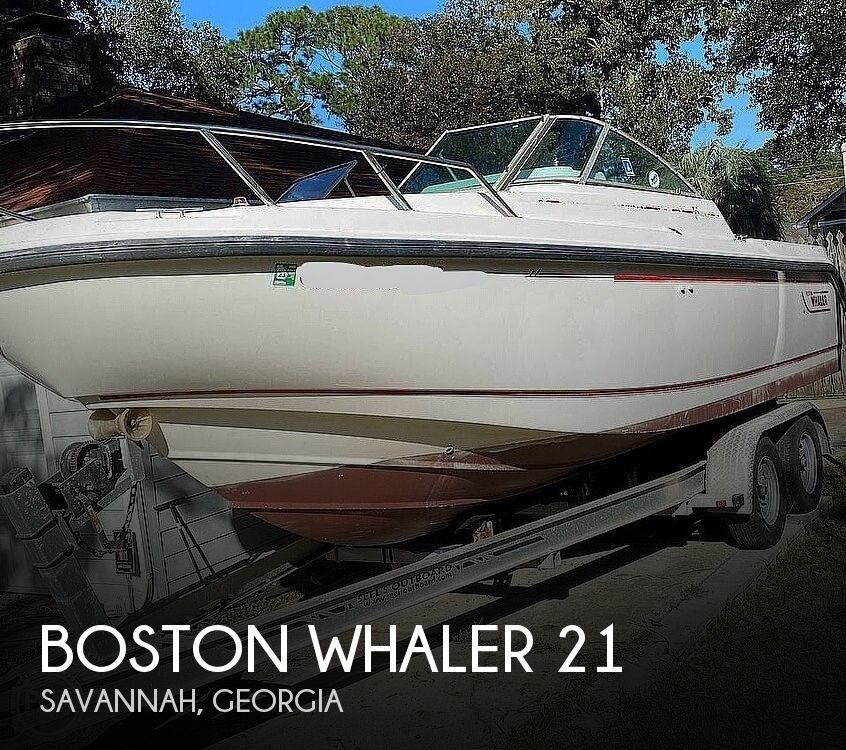 2001 Boston Whaler boat for sale, model of the boat is 21 Ventura & Image # 1 of 40