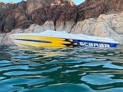 1999 Scarab Twin 502 Mag 415 horsepower each