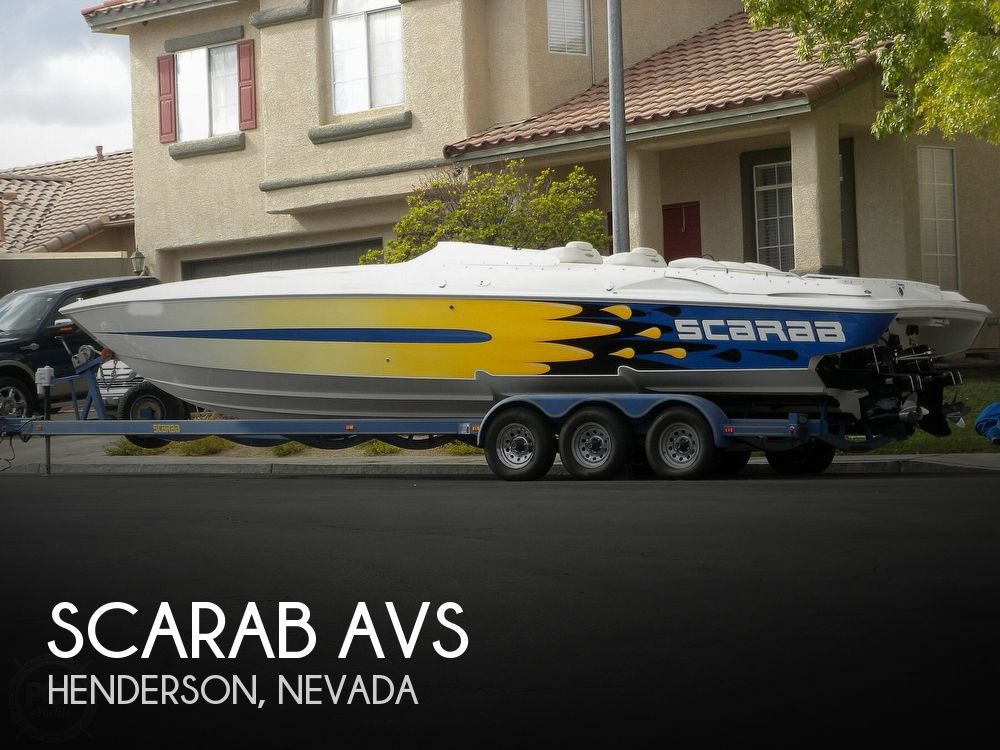 1999 Scarab boat for sale, model of the boat is AVS & Image # 1 of 40