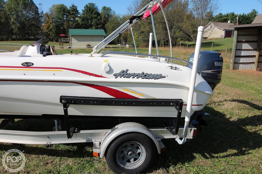 2006 Hurricane boat for sale, model of the boat is Gs172 & Image # 16 of 41