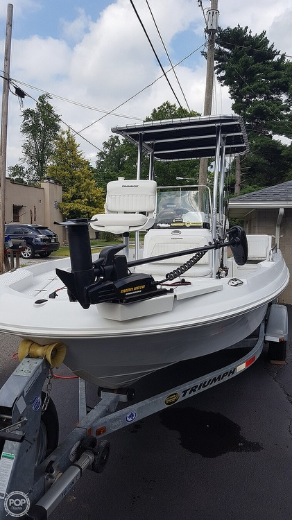 2011 Triumph boat for sale, model of the boat is 190 Bay & Image # 11 of 16