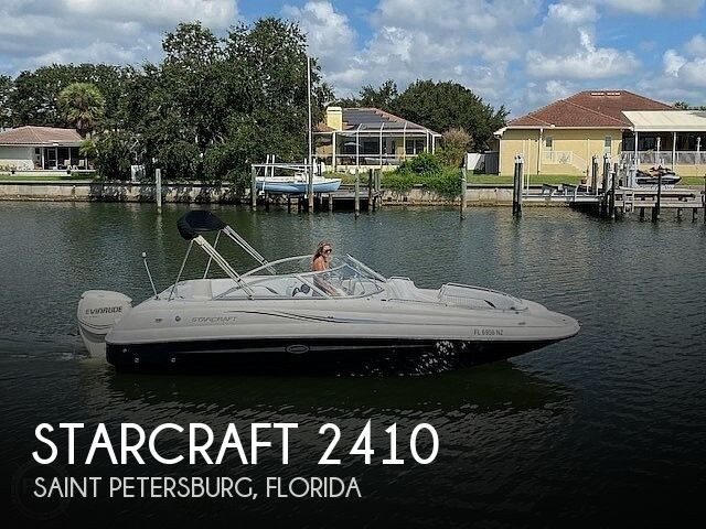 Used Starcraft Deck Boats For Sale by owner | 2010 Starcraft Limited 2410