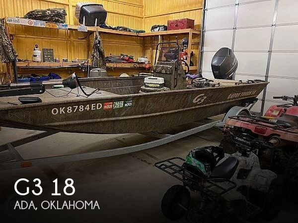 Used Fishing boats For Sale in Oklahoma by owner | 2017 G3 Gator Tough Jon 18