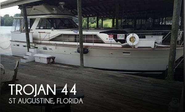 Used Motoryachts For Sale in Jacksonville, Florida by owner | 1974 Trojan 44