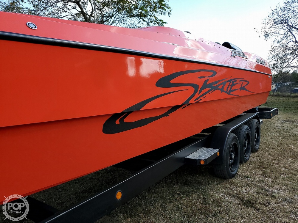 1987 Skater boat for sale, model of the boat is 32A & Image # 9 of 40