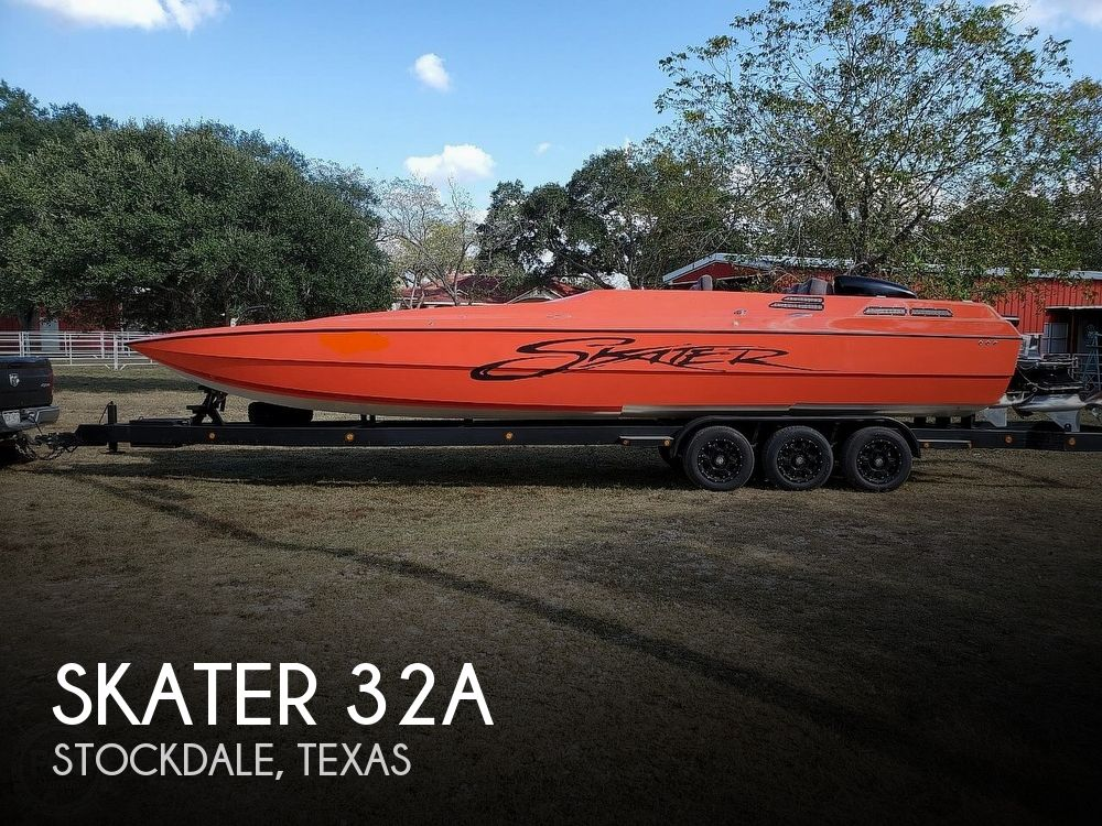 1987 Skater boat for sale, model of the boat is 32A & Image # 1 of 40