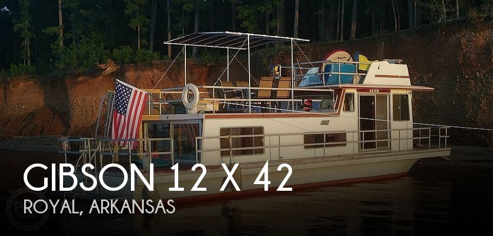 1979 Gibson boat for sale, model of the boat is 12 x 42 & Image # 1 of 40