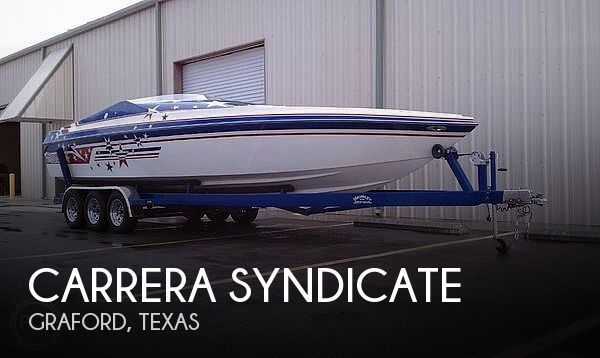 Used CARRERA Boats For Sale by owner | 2001 27 foot Carrera Syndicate