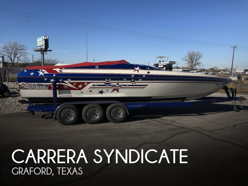 2001 Carrera boat for sale, model of the boat is Syndicate & Image # 1 of 40