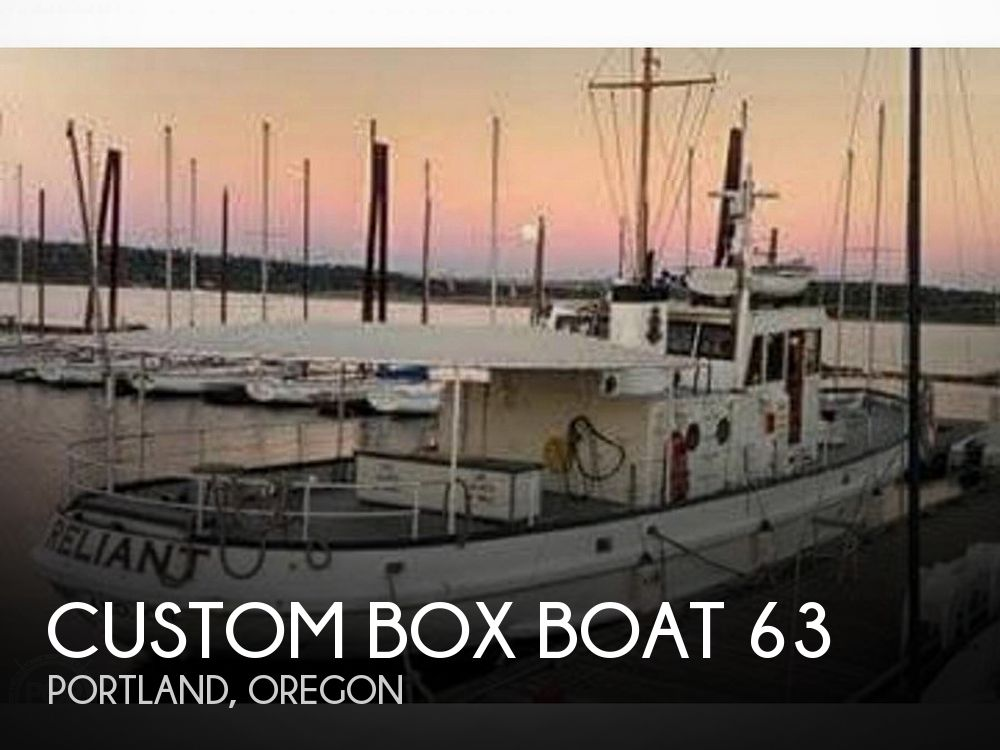 Used Boats For Sale in Oregon by owner | 1955 Custom Box Boat 63