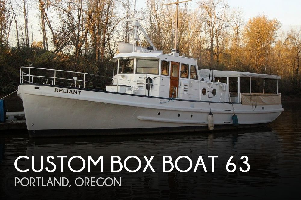 1955 Custom boat for sale, model of the boat is Box Boat 63 & Image # 1 of 40