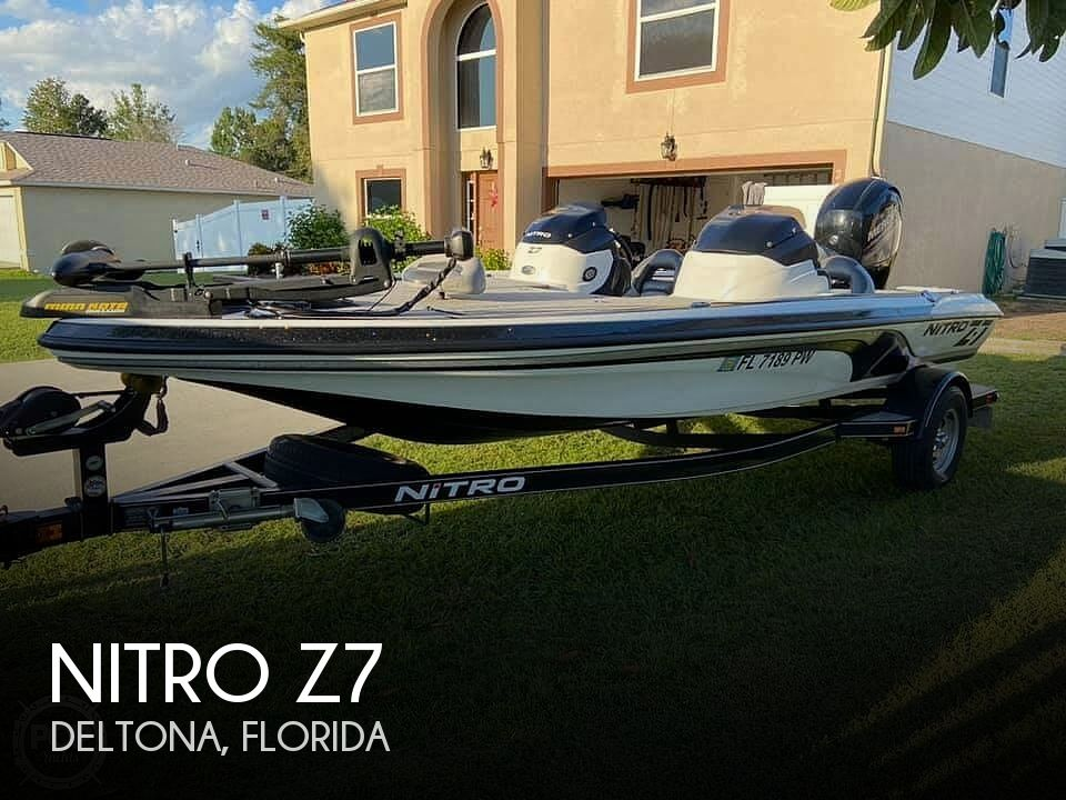 2015 Nitro boat for sale, model of the boat is Z7 & Image # 1 of 20