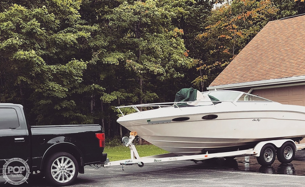 1999 Sea Ray boat for sale, model of the boat is 230 Weekender Cuddy & Image # 3 of 26