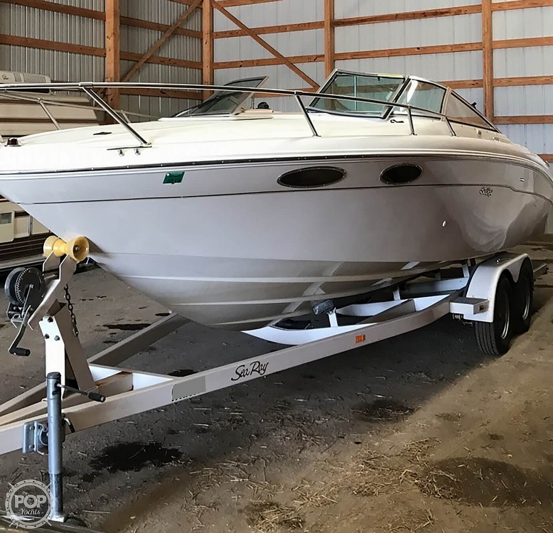 1999 Sea Ray boat for sale, model of the boat is 230 Weekender Cuddy & Image # 2 of 26
