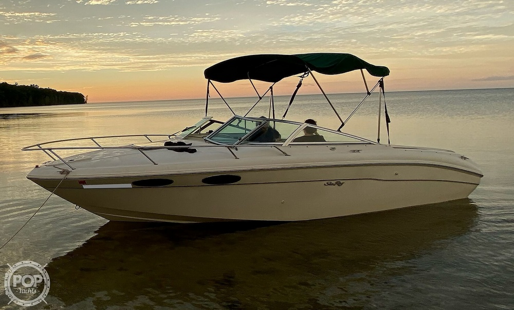1999 Sea Ray boat for sale, model of the boat is 230 Weekender Cuddy & Image # 22 of 26