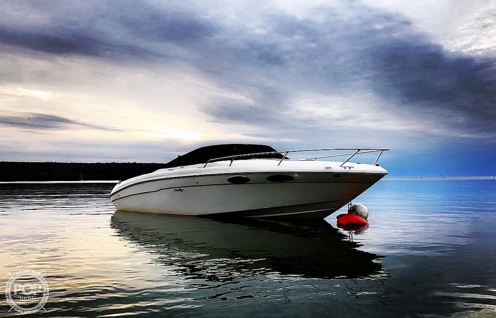1999 Sea Ray boat for sale, model of the boat is 230 Weekender Cuddy & Image # 16 of 26
