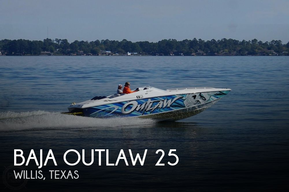 2006 Baja boat for sale, model of the boat is Outlaw 25 & Image # 1 of 40