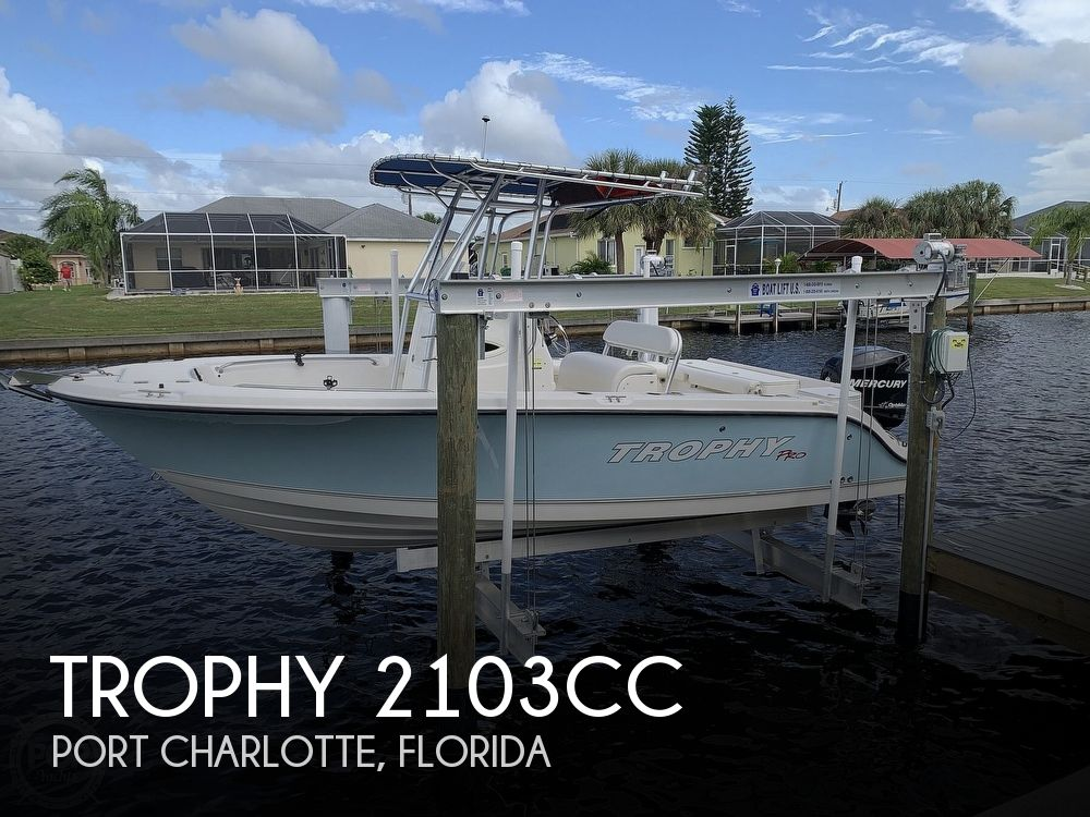 2008 Trophy boat for sale, model of the boat is 2103CC & Image # 1 of 40