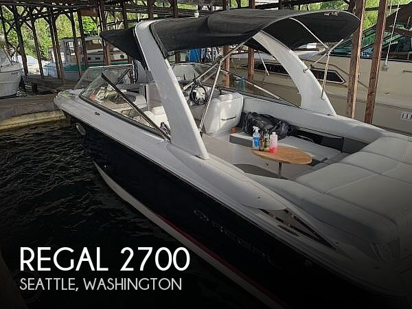 Used Regal 27 Boats For Sale by owner | 2013 Regal 2700