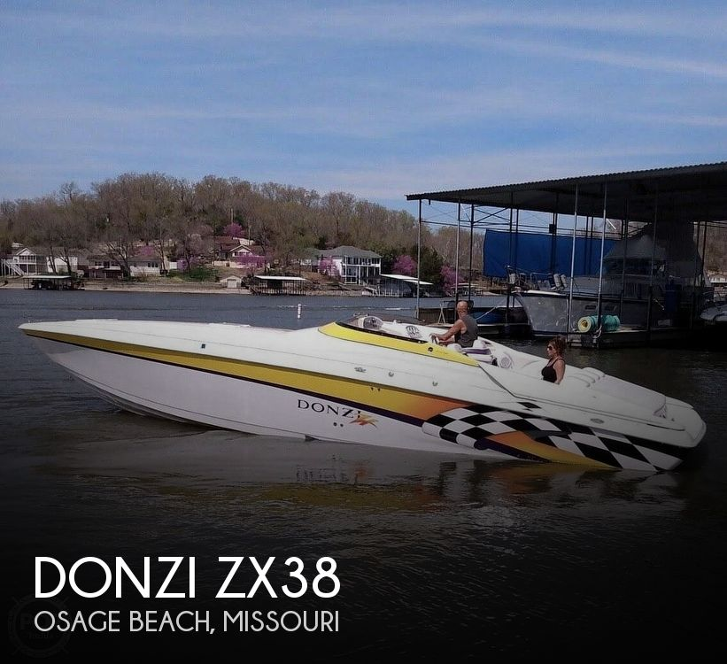 Used DONZI Boats For Sale by owner | 1999 Donzi Zx38