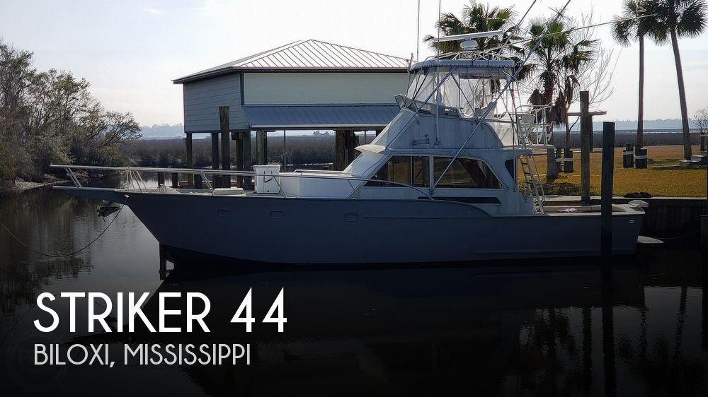 1971 Striker boat for sale, model of the boat is 44 & Image # 1 of 40