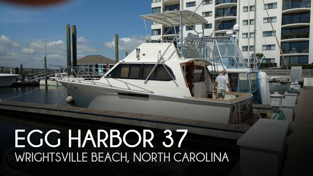 Used Egg Harbor Boats For Sale by owner | 1988 Egg Harbor 37 Convertible