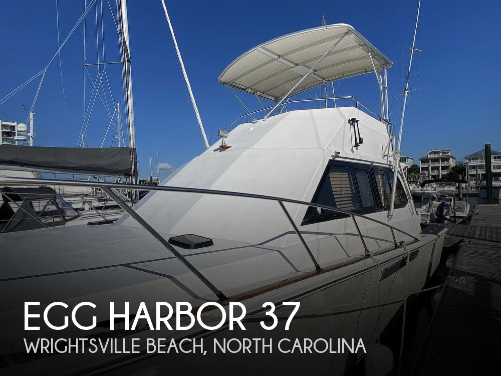 1988 Egg Harbor boat for sale, model of the boat is 37 Convertible & Image # 1 of 40