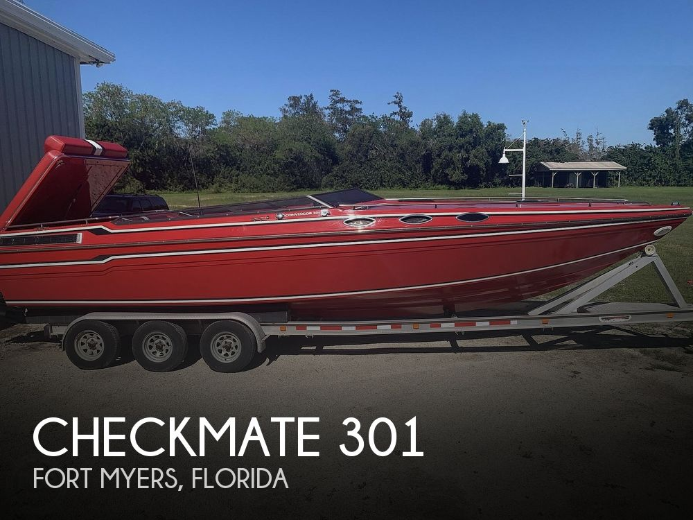 1993 Checkmate boat for sale, model of the boat is 301 Convincor & Image # 1 of 40