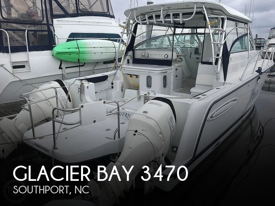 Used Power boats For Sale in North Carolina by owner | 2005 Glacier Bay 3470