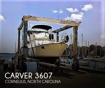 1984 Carver boat for sale, model of the boat is 3607 Aft Cabin & Image # 1 of 41