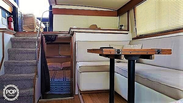 1984 Carver boat for sale, model of the boat is 3607 Aft Cabin & Image # 2 of 41