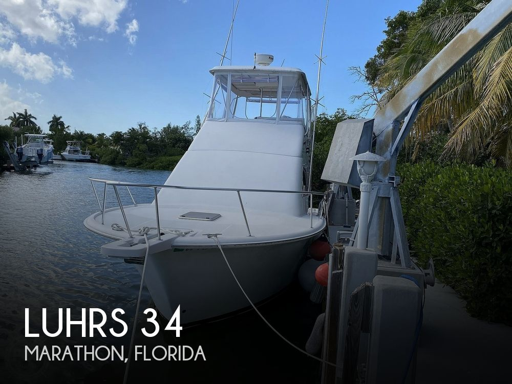 2003 Luhrs boat for sale, model of the boat is 34 Convertible & Image # 1 of 40