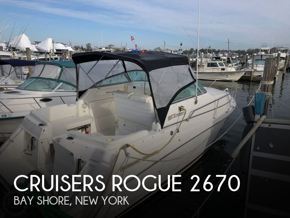 1996 Cruisers Yachts boat for sale, model of the boat is Rogue 2670 & Image # 1 of 40