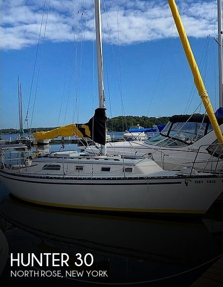 Used Hunter Sailboats For Sale in New York by owner | 1978 Hunter 30