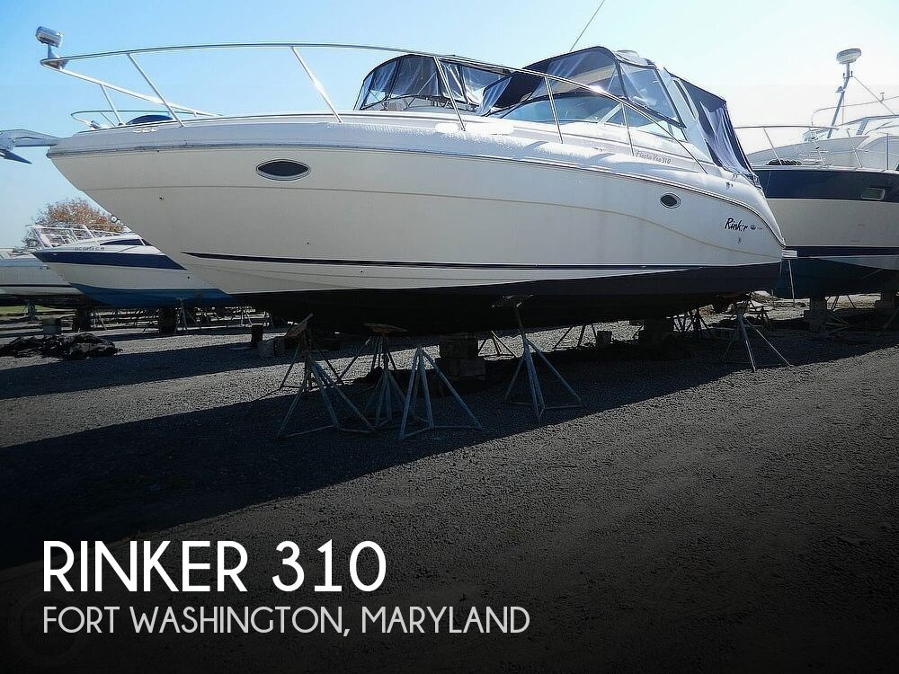 2000 Rinker boat for sale, model of the boat is 310 Fiesta Vee & Image # 1 of 40
