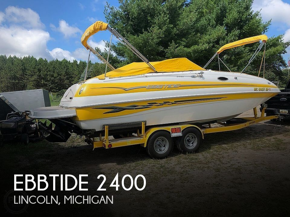 Used Ebbtide Deck Boats For Sale by owner | 2005 Ebbtide 2400 Fun Deck