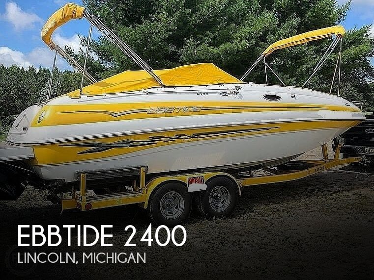 2005 Ebbtide boat for sale, model of the boat is 2400 Fun Deck & Image # 1 of 41