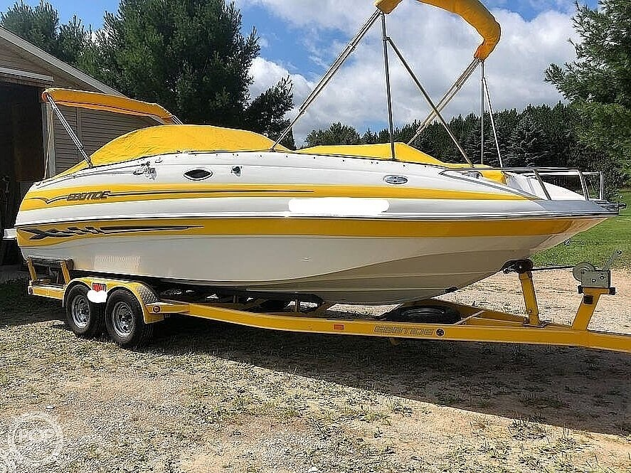 2005 Ebbtide boat for sale, model of the boat is 2400 Fun Deck & Image # 2 of 41