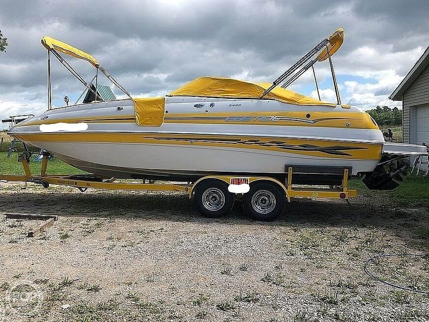 2005 Ebbtide boat for sale, model of the boat is 2400 Fun Deck & Image # 3 of 41