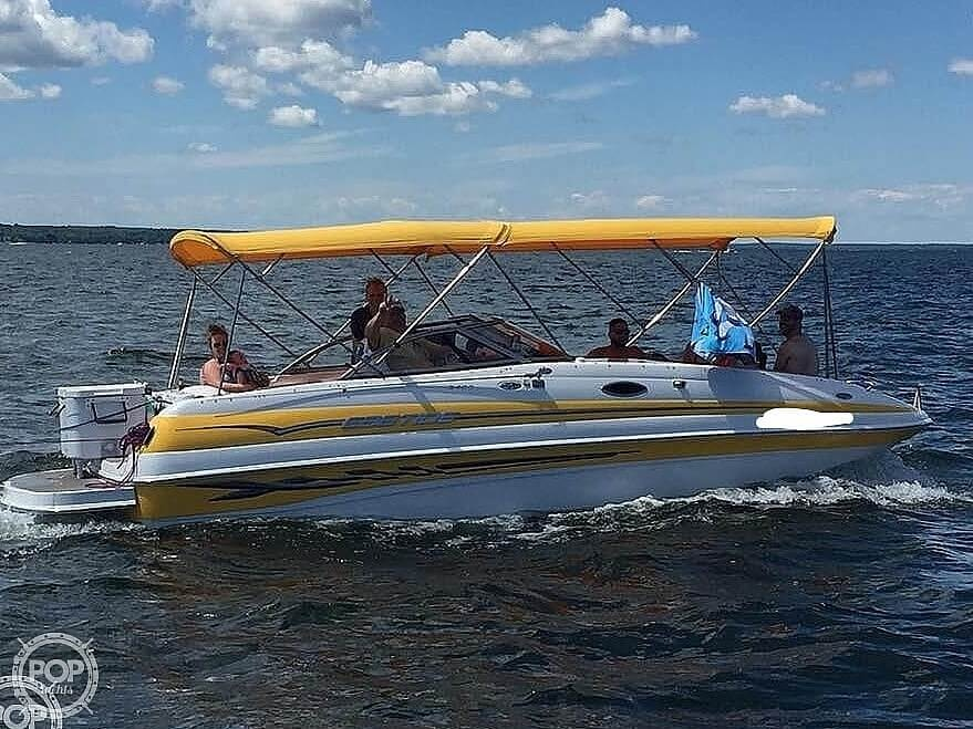 2005 Ebbtide boat for sale, model of the boat is 2400 Fun Deck & Image # 4 of 41
