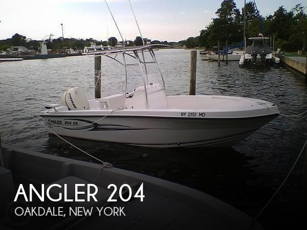 Used Angler Boats For Sale by owner | 2006 Angler 204fx