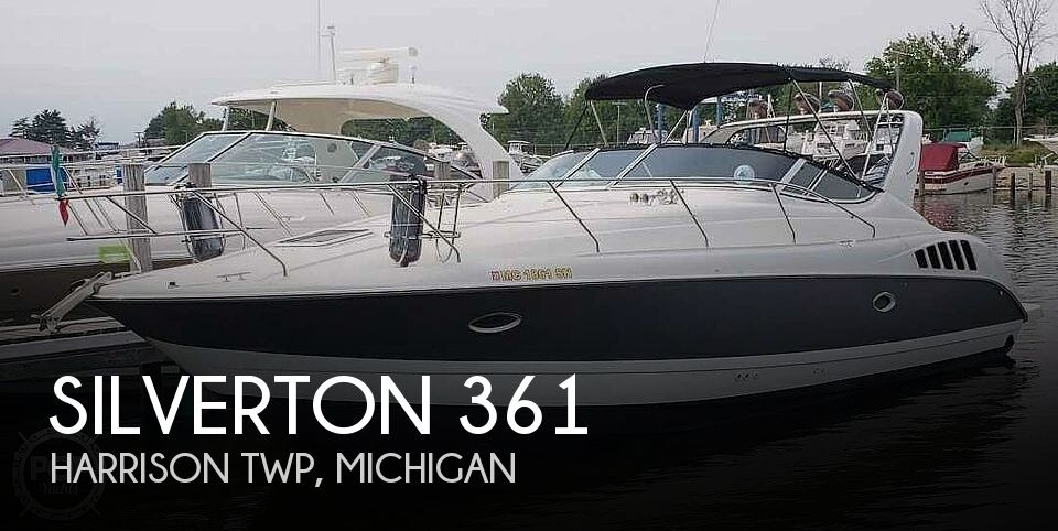 Used Silverton Boats For Sale in Michigan by owner | 1995 Silverton 361