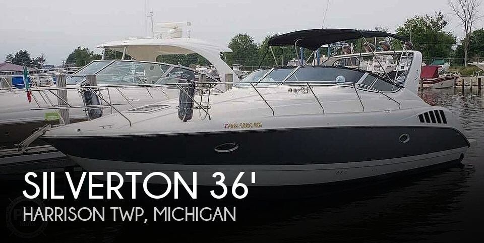 1995 Silverton boat for sale, model of the boat is 361 & Image # 1 of 40