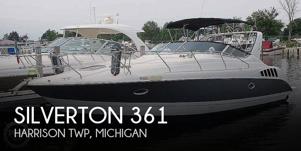 1995 Silverton boat for sale, model of the boat is 361 Express & Image # 1 of 40