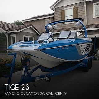 Used Ski Boats For Sale in California by owner | 2014 Tige 23