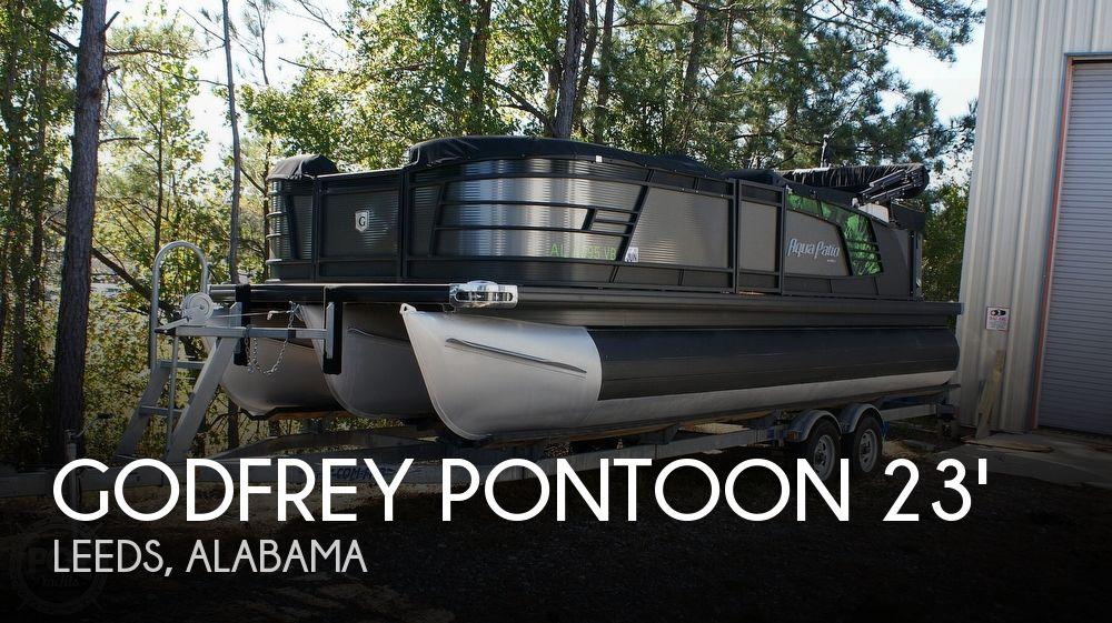 2018 Godfrey Pontoon boat for sale, model of the boat is Aqua Patio 235C & Image # 1 of 40