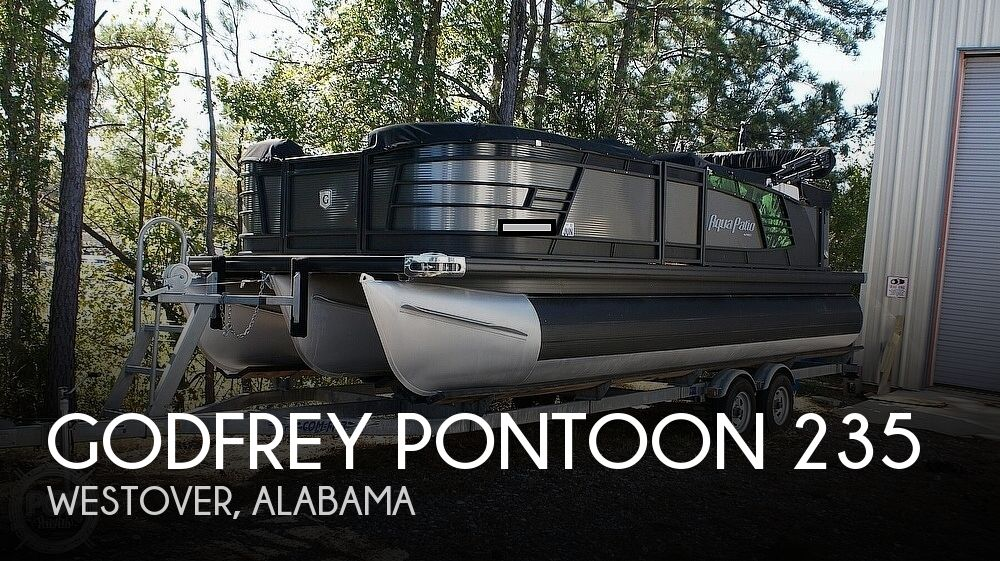 2018 GODFREY PONTOON AQUA PATIO 235C for sale