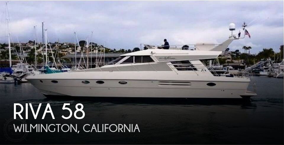 Used Boats For Sale in Los Angeles, California by owner | 1991 Riva 58