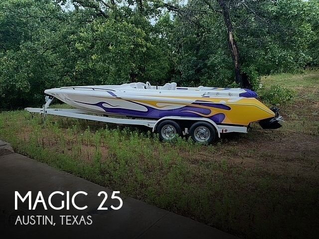 Used Magic Boats For Sale by owner | 2003 Magic 25