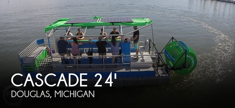 Used Cascade Boats For Sale by owner | 2013 23 foot Cascade Custom Cycleboat